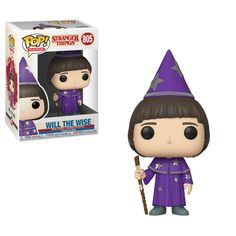 Buy Stranger Things Will the Wise Funko Pop! Vinyl from Pop In A Box UK, the home of Funko Pop Vinyl subscriptions and more. Stranger Things Merchandise, Stranger Things Funko Pop, Stranger Things Characters, Stranger Things Season 3, Stranger Things Funny, Stranger Things Netflix, Age Of Ultron, Jackson 5, Jonathan Morgenstern