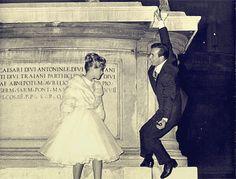 """samweed: """"Bobby Darin and Sandra Dee in Italy (c.1960) """""""
