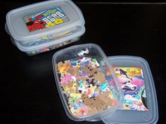 Replace Flimsy Cardboard Game Boxes with Stackable Plastic | MeckMom.com