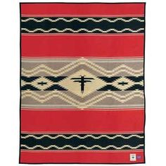 Shop for Pendleton Southwestern Water Indian Wool Blanket. Get free delivery On EVERYTHING* Overstock - Your Online Fashion Bedding Store! Native American Blanket, Pendleton Wool Blanket, Red Indian, Novelty Print, Mold And Mildew, American Indians, Wool Blend, Bohemian Rug, Pure Products