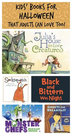 10 Spooky and Monster Books for Kids That Adults Can Love Too (Even After Halloween) - Planet Jinxatron