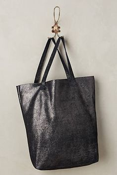 Suede Shimmer Tote