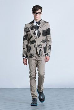 I pretty much want this...spotted it in gap press Men vol.34: viktor-rolf-monsieur-2014-spring-summer-collection-12
