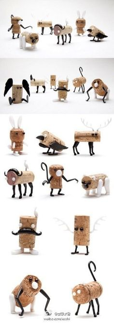 Great Ideas for DIY Wine Cork Art & Projects (50 Pics) - @Tasha Adams Adams Restad you should figure out how to make a nativity scene!!