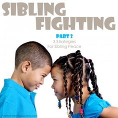 3 tips to help you end sibling fights via @Amy McCready Positive Parenting Solutions