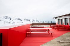 Audi Quattro Festkogl Alm hut by Designliga, Obergurgl-Hochgurgl – Austria Audi Quattro, Commercial Design, Commercial Interiors, Restaurant Exterior Design, Signage Display, Restaurants, Café Bar, Hotel Restaurant, Design Blog