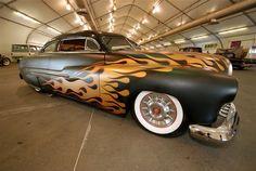 Custom painted car