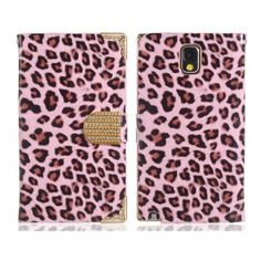 Ornate Leopard Pink Samsung Galaxy Note 3 Case