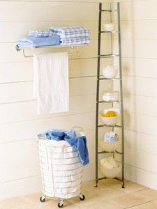 best small bathroom storage ideas for . We've already done the work for you when it comes to finding and curating small bathroom storage ideas. Small Bathroom Organization, Laundry Room Storage, Bathroom Shelves, Bathroom Ideas, Laundry Cart, Ikea Bathroom, Budget Bathroom, Simple Bathroom, Bathroom Towels
