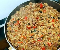 Nasi Goreng, Meat Recipes, Healthy Recipes, No Cook Meals, Fried Rice, Food Porn, Paleo, Easy Meals, Food And Drink