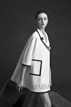 Chinese independent designer brands Haotian Wen 2014 Winter Women's Ad Campaign