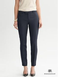 BR Monogram slim crop | Banana Republic