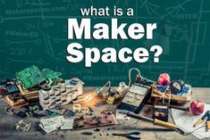 A makerspace is a collaborative work space inside a school, library or separate public/private facility for making, learning, exploring and sharing that uses high tech to no tech tools.  These spaces are open to kids, adults, and entrepreneurs and have a variety of maker equipment including 3D pr...