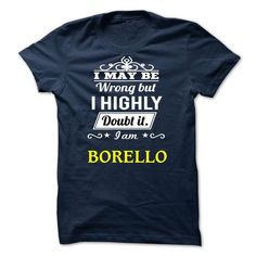 cool BORELLO T shirt, Its a BORELLO Thing You Wouldnt understand Check more at https://tktshirts.com/borello-t-shirt-its-a-borello-thing-you-wouldnt-understand.html