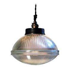 Collection of Holophane Globes   From a unique collection of antique and modern chandeliers and pendants  at https://www.1stdibs.com/furniture/lighting/chandeliers-pendant-lights/