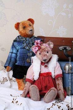 Vintage teddy bears by Elena Bestuzheva