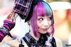 19-year-old Ringo on the street in Harajuku... | Tokyo Fashion