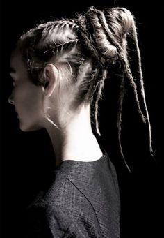 Valentino dread locs by Guido Palau // Redken