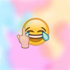 Emoji fuck you
