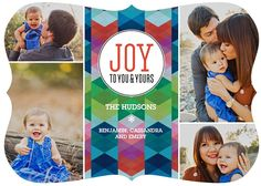 I am LOVING the Tiny Prints Bold Expressions Holiday Card Collection