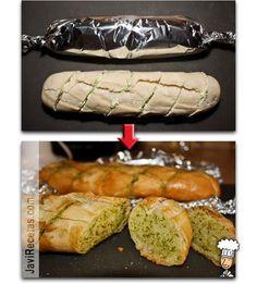 Pan de Ajo fácil y paso a paso!!!