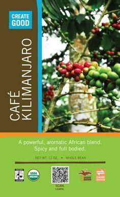 Pura Vida --- Cafe Kilimanjaro   This is excellent coffee!  :-)