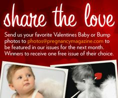 Pregnancy Magazine - Pregnancy info, Buyer's Guide and Week By Week Newsletter Pregnancy Magazine, Fun Stuff, Stuff To Do, Bump Photos, Share The Love, February, Valentines, Baby, Fun Things