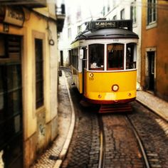 Take a tram ride (number 28 is the best), hire a go-car to drive around the old city, take the ferry from Terreiro do Paço or Cais Sodré to the other side of the Tejo river and fall in love with the view over the city, take one or all of the lifts from down town to up town (Santa Justa, Bica or Glória).