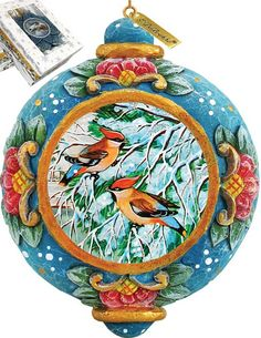 Features:  -Comes in a beautiful decorative gift box.  -Made in the USA.  Product Type: -Shaped ornament.  Theme: -Animal.  Color: -Multi.  Country of Manufacture: -United States.  Primary Material: -