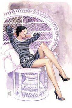 #milomanara #sexy #girl #comic #illustration
