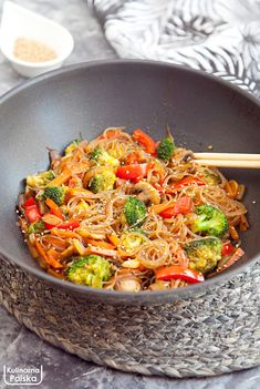 Clean Eating, Healthy Eating, Banoffee Pie, Wok, Japchae, No Bake Cake, Vegetarian Recipes, Food And Drink, Lunch