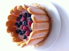 Süßer Sonntag… Beerencharlotte mitQuark-Creme