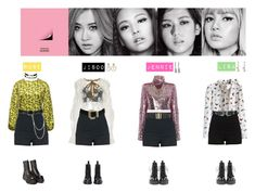 BLACK PINK - WHISTLE♡ by vvvan99 on Polyvore featuring polyvore fashion style Dolce&Gabbana Chicwish MSGM River Island Dr. Martens Charlotte Russe Latelita Chanel Edge Only Wet Seal Topshop UNIF Fenton clothing
