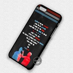 Band Quotes Music Logo - iPhone 7 Plus 6S SE 4S Cases & Covers