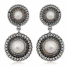 I shopped at Bridalorium for my jewelry, they were fantastic! Bridal Jewellery, Jewelry, Drop Earrings, Fashion, Jewellery Making, Moda, Jewels, Fashion Styles, Jewlery