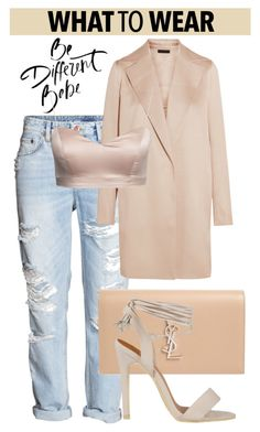 """""""OOTD"""" by gigi-lucid ❤ liked on Polyvore featuring The Row and Yves Saint Laurent"""