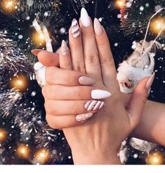 most popular trendy summer nails art designs ideas to look charming 10 ~ thereds.me Nails most popular trendy summer nails art designs ideas to look charming 10 ~ thereds.me Nails Aycrlic Nails, Xmas Nails, Holiday Nails, Nail Manicure, Christmas Nails, Christmas Holiday, Nails Polish, Coffin Nails, Cute Acrylic Nails