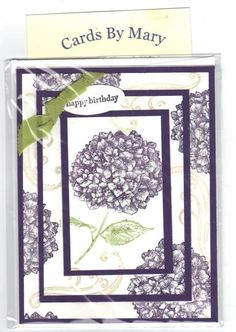 stampin up because I care triple layer card by mware - Cards and Paper Crafts at Splitcoaststampers