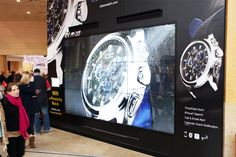 Citizen campaign at Bluewater with Digital Showcase Media format #DOOH #digital #advertising #bluewater #mall #citizen #watch #jewellery