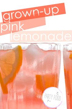 Grown-up Pink Lemonade...if only I weren't breastfeeding! ;)  Just not sure about the light beer...