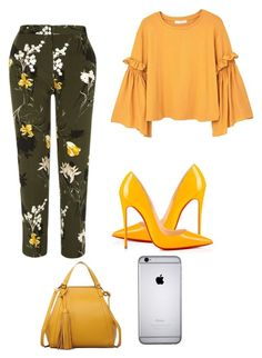 Untitled #30 by rnbks on Polyvore featuring polyvore, fashion, style, MANGO, River Island, Christian Louboutin and clothing