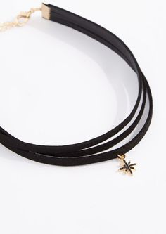 image of Layered Black Star Choker