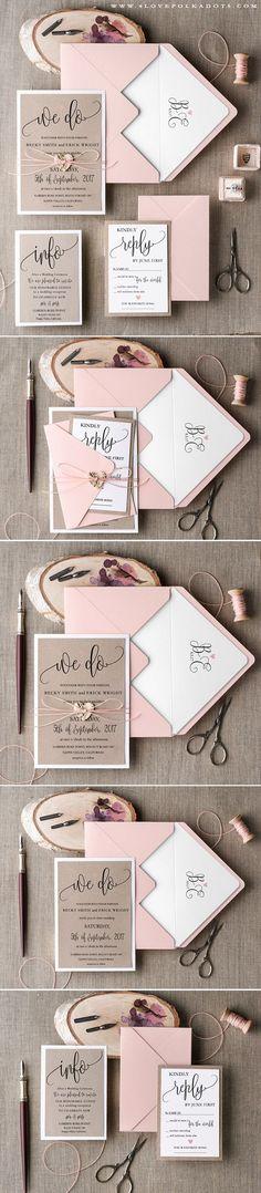 800 Best Rustic Wedding Invitations Images In 2019