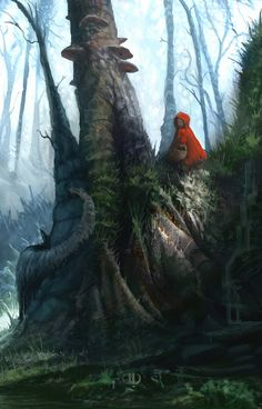 ✯ Little Red Riding Hood :: Artist Tierno Beauregard ✯