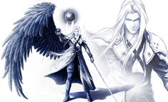 Sephiroth Final Fantasy 7 - Poster Huge 34 in x 22 in -Fast Shipping - Limited Final Fantasy Tattoo, Final Fantasy Vii, Final Fantasy Characters, Fantasy Series, Puzzles And Dragons, Fantasy Posters, Fantasy Artwork, Angels And Demons, Finals