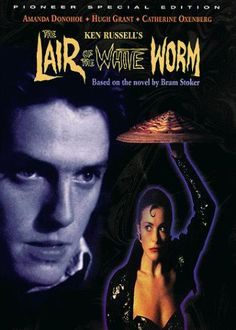 Directed by Ken Russell.  With Amanda Donohoe, Hugh Grant, Catherine Oxenberg, Peter Capaldi. Scottish archaeologist Angus Flint discovers an odd skull amid the ruins of a convent that he is excavating. Shortly thereafter, Lady Sylvia Marsh returns to Temple House, a nearby mansion, far earlier than expected. At a party in the village, Angus meets Lord James D'Ampton, who has just inherited his family's land right next to Temple House. Angus learns of the D'Ampton Worm, a huge ......
