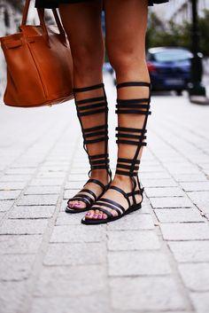 Fashion Cognoscenti Inspiration: Gladiator Sandals, Festival Style