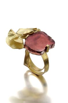 Handbag Accessories, Jewelry Accessories, Jewelry Design, Cute Rings, Unique Rings, Druzy Ring, Gemstone Rings, Burgundy And Gold, Handmade Jewelry