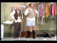 The Carol Burnett Show - The Oldest Wardrobe Manager (Full Version)  This is one of my favorite sketches ever!!  It's always funny when Harvey Korman breaks face, but Tim Conway actually cracks in this one too!  It's absolutely hilarious!!  Well worth a watch...