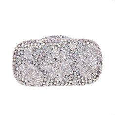Fawziya Frog Lotus Rhinestone Clutch Purses Wholesale Bags For Women    Quickly view this special product f6773801c844f